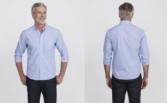 ako nosiť košeľu