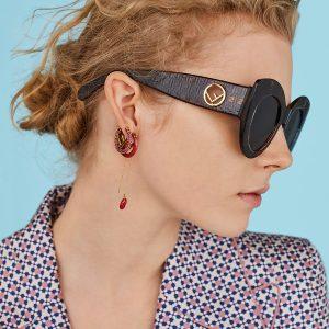 slnečné okuliare Fendi eyevil
